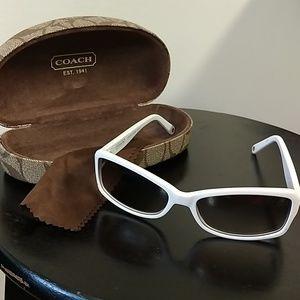 Coach, Chelsea sunglasses with Swarvoski crystals